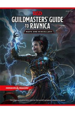 DUNGEONS & DRAGONS 5 -  GUILDMASTER'S GUIDE TO RAVNICA - MAPS AND MISCELLANY (ENGLISH)