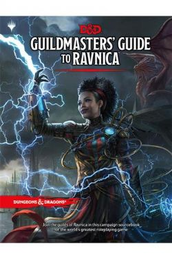 DUNGEONS & DRAGONS 5 -  GUILDMASTERS' GUIDE TO RAVNICA (ENGLISH)