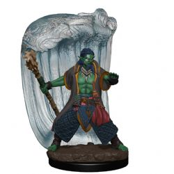 DUNGEONS & DRAGONS 5 -  MALE WATER GENASI DRUID -  ICONS OF THE REALMS