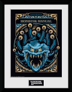 DUNGEONS & DRAGONS 5 -  MONSTER MANUAL - COLLECTOR PRINTS (13