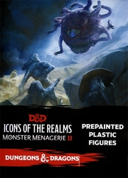 DUNGEONS & DRAGONS 5 -  MONSTER MENAGERIE 2 BOOSTER -  DND ICONS