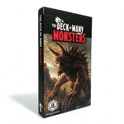 DUNGEONS & DRAGONS 5 -  MONSTERS 1 (ENGLISH) -  THE DECK OF MANY