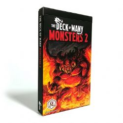 DUNGEONS & DRAGONS 5 -  MONSTERS 2 (ENGLISH) -  THE DECK OF MANY