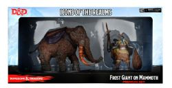 DUNGEONS & DRAGONS 5 -  SNOWBOUND FROST GIANT AND MAMMOTH -  ICONS OF THE REALMS