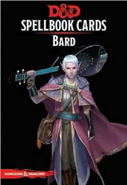 DUNGEONS & DRAGONS 5 -  SPELLBOOK CARDS - BARD - NEW EDITION (ENGLISH)