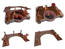 DUNGEONS & DRAGONS 5 -  THE YAWNING PORTAL INN PREMIUM SET -  ICONS OF THE REALMS