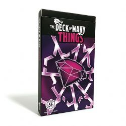 DUNGEONS & DRAGONS 5 -  THINGS (ENGLISH) -  THE DECK OF MANY