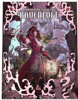 DUNGEONS & DRAGONS 5 -  VAN RICHTEN'S GUIDE TO RAVENLOFT ALTERNATE COVER (ENGLISH) -  D&D 5TH : ADVENTURES