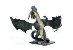 DUNGEONS & DRAGONS MINIATURES -  GARGANTUAN BLACK DRAGON - USED