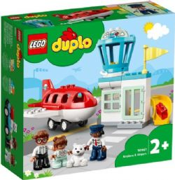 DUPLO -  AIRPLANE AND AIRPORT (28 PIECES) 10961