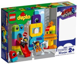 DUPLO -  EMMET AND LUCY'S VISITORS FROM THE DUPLO PLANET (53 PIECES) 10895