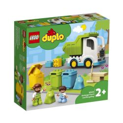 DUPLO -  GARBAGE TRUCK AND RECYCLING (91 PIECES) 10945