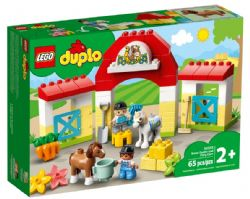 DUPLO -  HORSE STABLE AND PONY CARE (65 PIECES) 10951