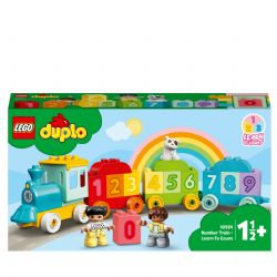 DUPLO -  NUMBER TRAIN - LEARN TO COUNT (23 PIECES) 10954