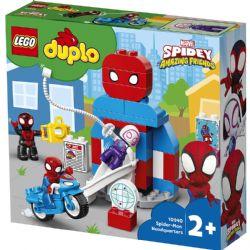 DUPLO -  SPIDER-MAN HEADQUARTERS (36 PIECES) -  SUPER HEROES 10940