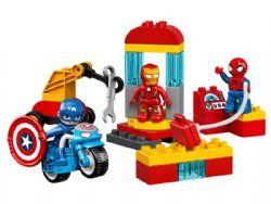 DUPLO -  SUPER HEROES LAB (30 PIECES) 10921