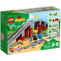 DUPLO -  TRAIN BRIDGE AND TRACKS (26 PIECES) 10872 10845