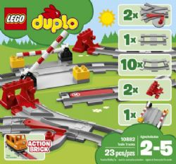 DUPLO -  TRAIN TRACKS (23 PIECES) 10882