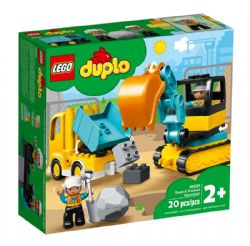DUPLO -  TRUCK & TRACKED EXCAVATOR (20 PIECES) 10931