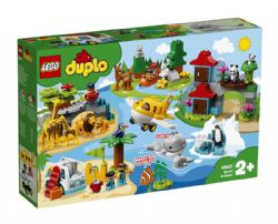 DUPLO -  WORLD ANIMALS (121 PIECES) 10907