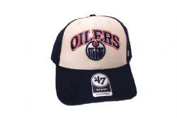 EDMONTON OILERS -  ADJUSTABLE BLACK CAP
