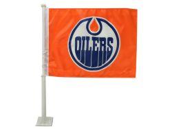 EDMONTON OILERS -  CAR FLAG