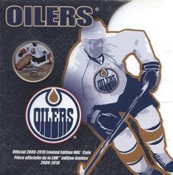 EDMONTON OILERS -  EDMONTON OILERS PLAYER -  2010 CANADIAN COINS