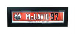 EDMONTON OILERS -  FRAMED CONNOR MCDAVID #97 (6