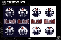 EDMONTON OILERS -  TEAM LOGO  - STICKER