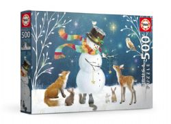 EDUCA -  SNOWMAN AND FRIENDS (500 PIECES)