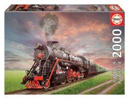 EDUCA -  STEAM TRAIN (2000 PIECES)