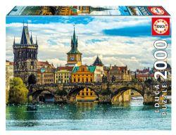 EDUCA -  VIEW OF PRAGUE (2000 PIECES)