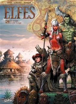 ELFES -  LEA'SAA L'ELFE ROUGE 29
