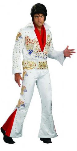 ELVIS PRESLEY -  ELVIS PRESLEY SUPREME EDITION DELUXE JEWELED COSTUME (ADULT)