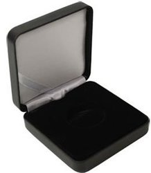 EMPTY CASES -  BLACK ETUI FOR 28-30 MM CAPSULE (36 MM DIAMETER EXTERIOR)