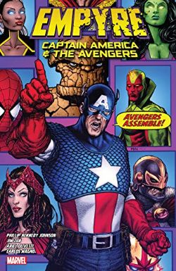 EMPYRE -  CAPTAIN AMERICA AND AVENGERS TP