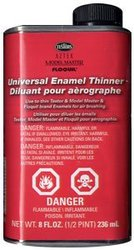 ENAMEL PAINT -  AIRBRUSH THINNER FOR ENAMELS (236 ML)