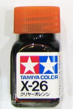 ENAMEL PAINT -  CLEAR ORANGE (1/3 OZ) EX-26