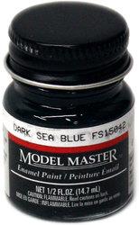 ENAMEL PAINT -  DARK SEA BLUE (0.5 OZ.)