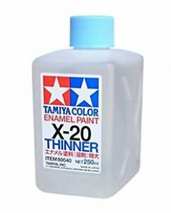 ENAMEL PAINT -  ENAMEL THINNER (250 ML) X-20