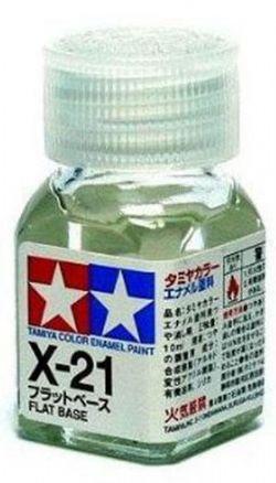 ENAMEL PAINT -  FLAT BASE (1/3 OZ) EX-21