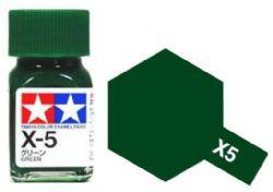 ENAMEL PAINT -  GREEN (1/3 OZ) EX-5