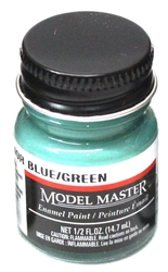 ENAMEL PAINT -  INTERIOR BLUE/GREEN (0.5 OZ.)