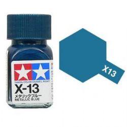 ENAMEL PAINT -  METALLIC BLUE (1/3 OZ) EX-13