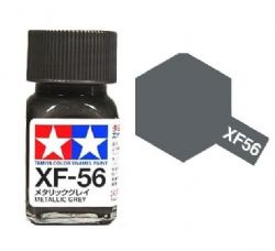 ENAMEL PAINT -  METALLIC GREY (1/3 OZ) EXF-56