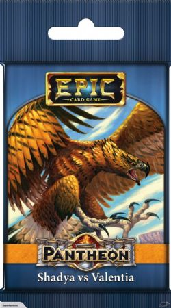 EPIC CARD GAME -  SHADYA VS VALENTIA (ENGLISH) -  PANTHEON