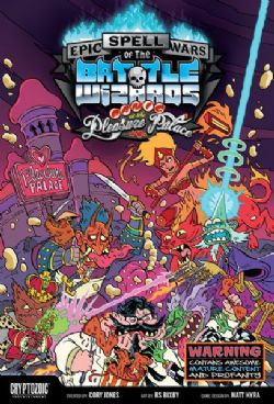EPIC SPELL WARS OF THE BATTLE WIZARDS -  PANIC AT THE PLEASURE PALACE (ENGLISH)