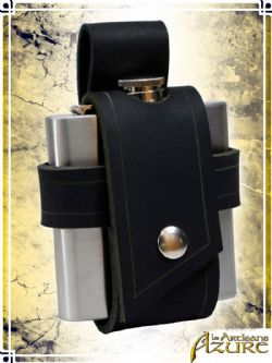 EQUIPMENT -  FLASK HOLDER - BLACK