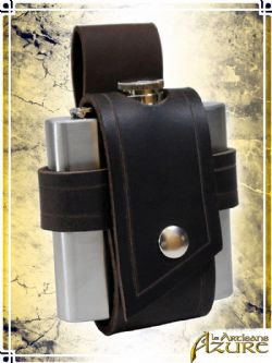 EQUIPMENT -  FLASK HOLDER - BROWN