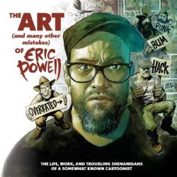 ERIC POWELL -  ART & MANY MISTAKES HC